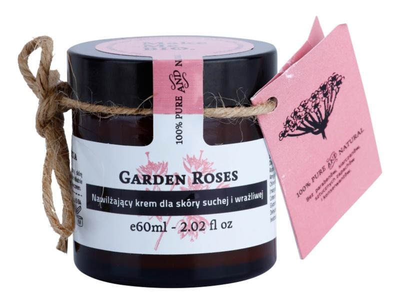 Make Me BIO Face Care Garden Roses Feuchtigkeitscreme für trockene bis empfindliche Haut