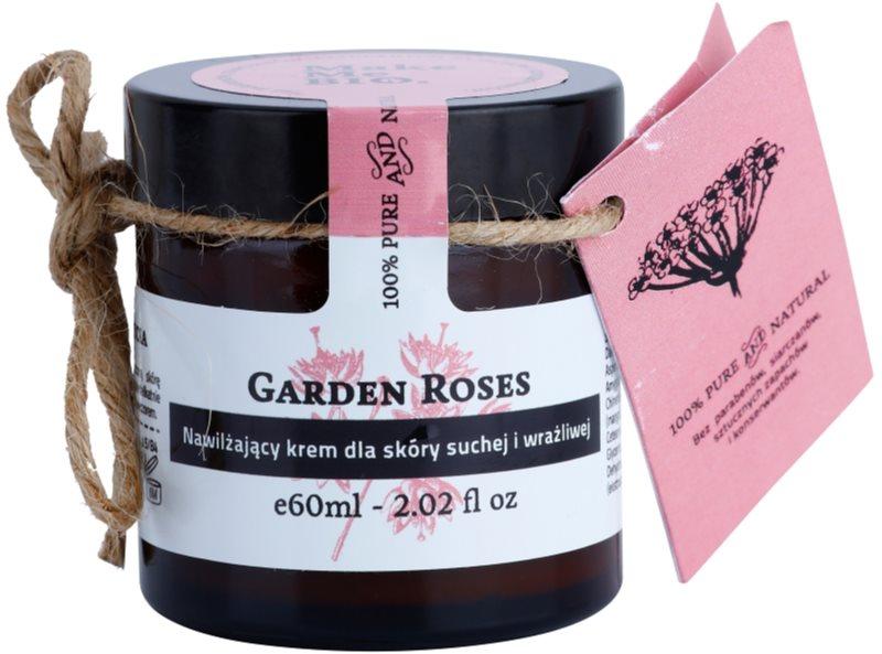 Make Me BIO Face Care Garden Roses hidratáló krém száraz és érzékeny bőrre