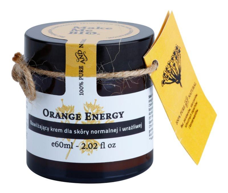 Make Me BIO Face Care Orange Energy crema hidratante para pieles normales y sensibles