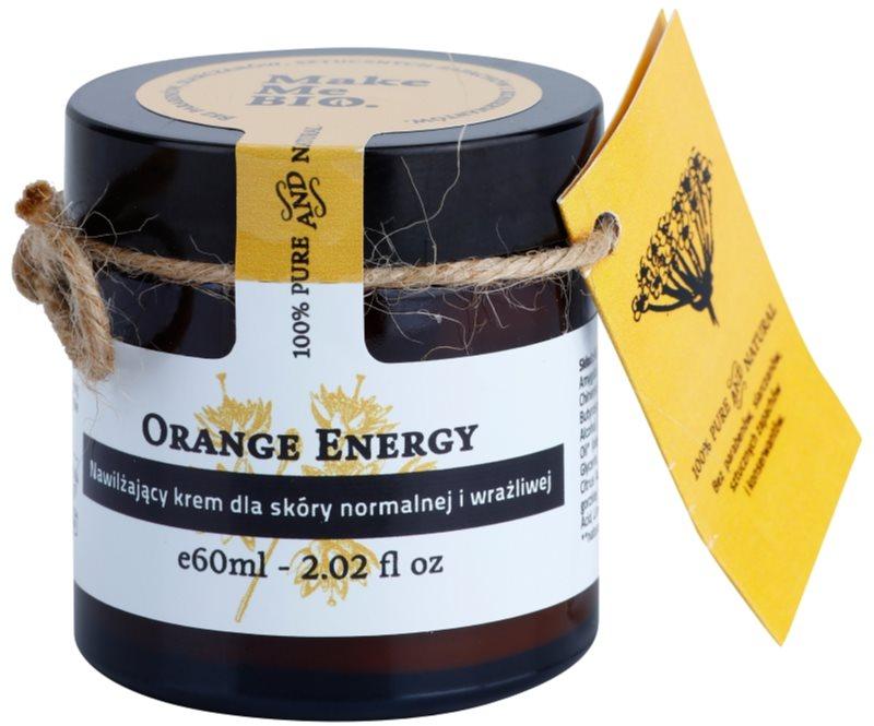Make Me BIO Face Care Orange Energy Moisturiser for Normal to Sensitive Skin