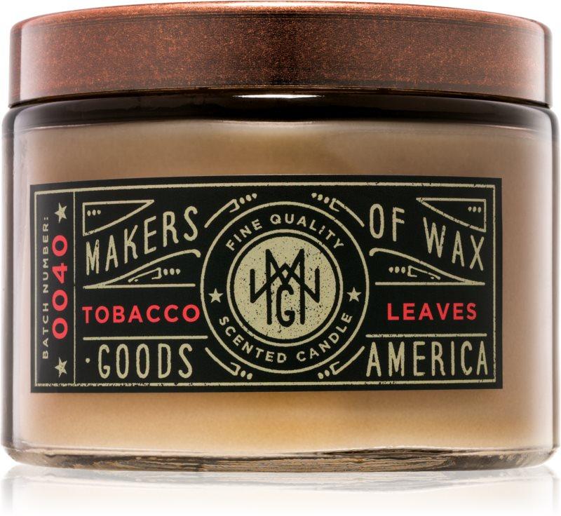 Makers of Wax Goods Tobacco Leaf candela profumata 301,64 g