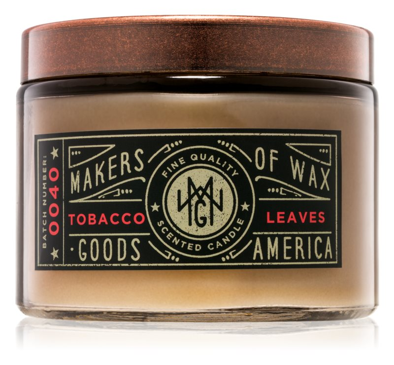 Makers of Wax Goods Tobacco Leaf illatos gyertya  301,64 g