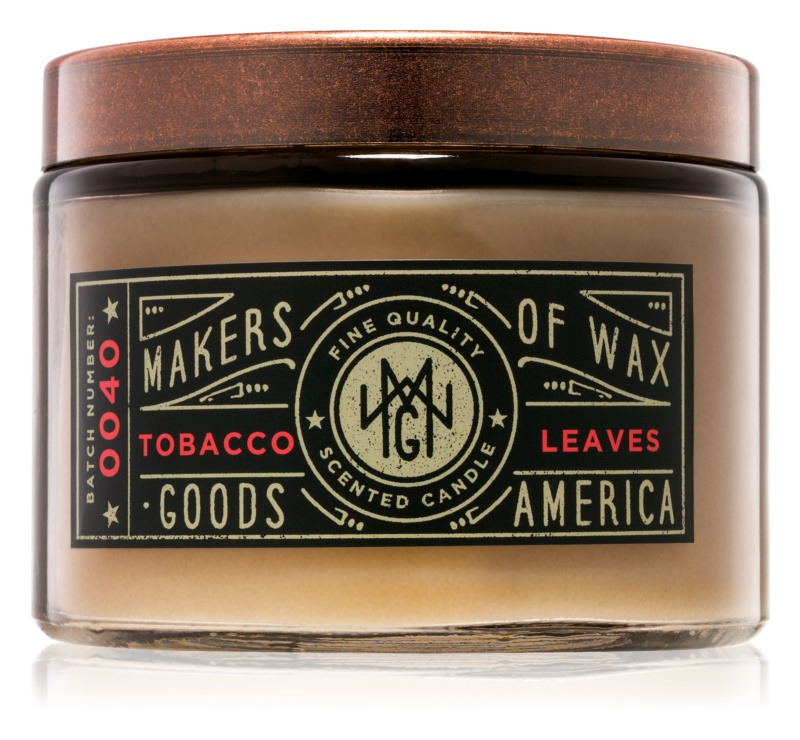 Makers of Wax Goods Tobacco Leaf vonná sviečka 301,64 g