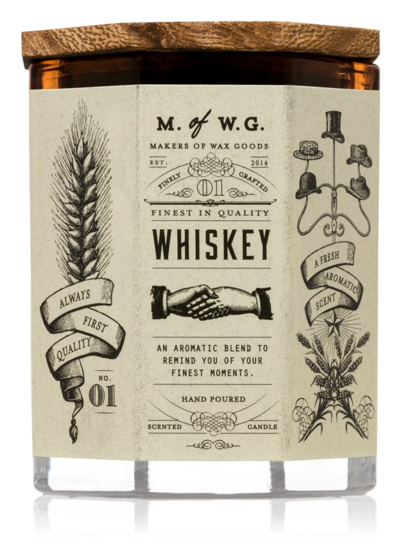 Makers of Wax Goods Whiskey bougie parfumée 102,34 g