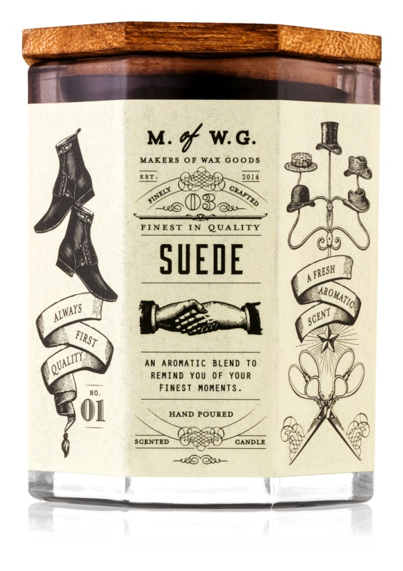 Makers of Wax Goods Suede lumânare parfumată  102,34 g