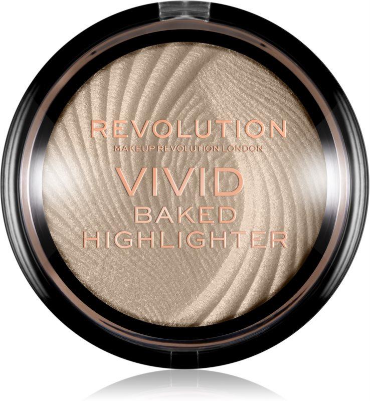 Makeup Revolution Vivid Baked kemencében sült élénkítő púder