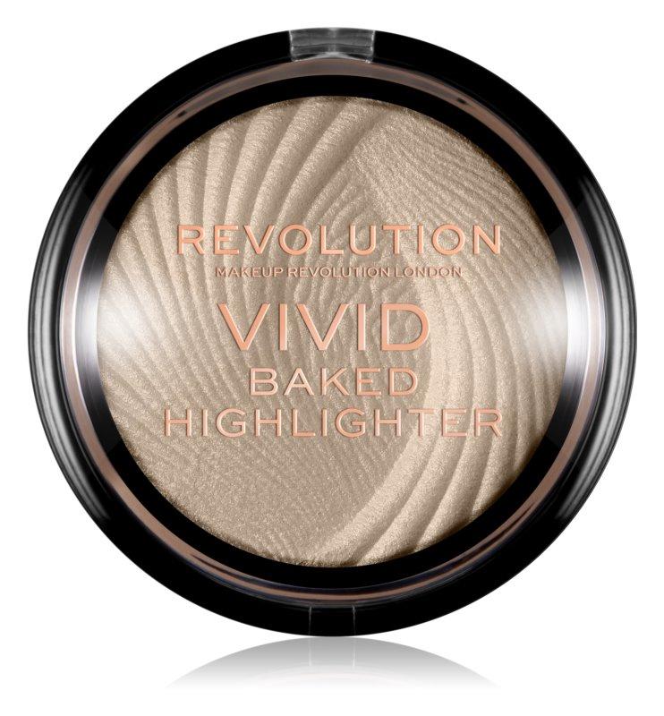 Makeup Revolution Vivid Baked zapečený rozjasňující pudr