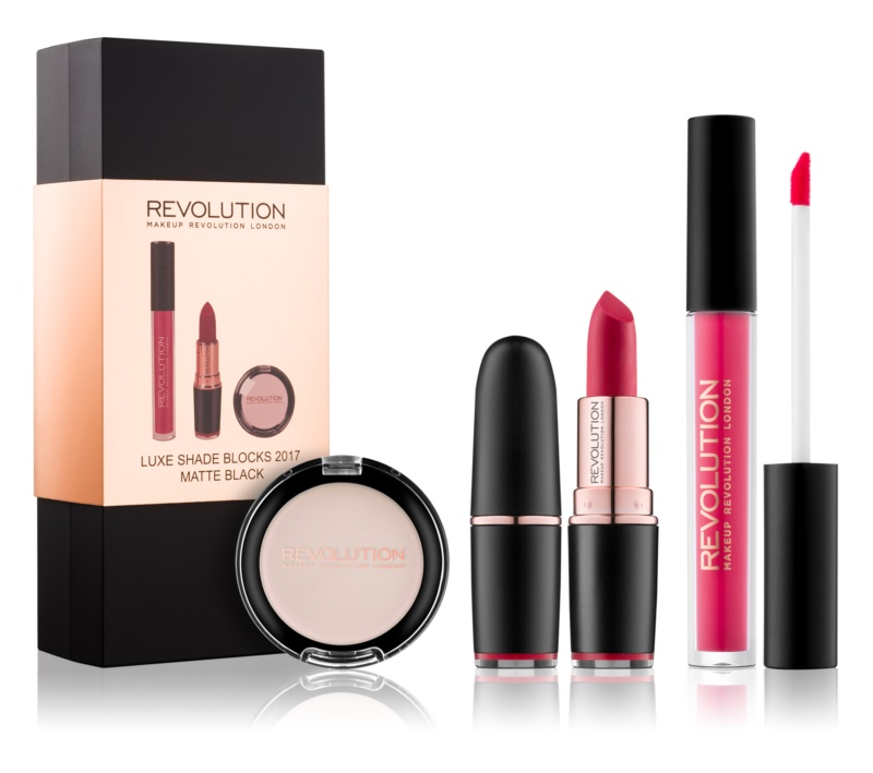 Makeup Revolution Luxe Shade Blocks косметичний набір I.