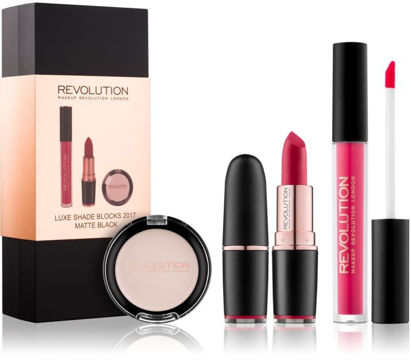 Makeup Revolution Luxe Shade Blocks kosmetická sada I.