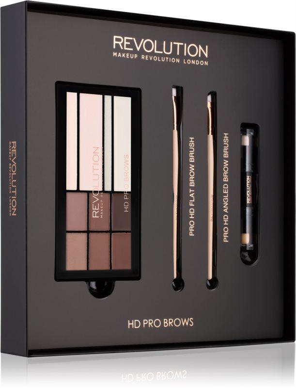 Makeup Revolution Pro HD Brows kosmetická sada I.