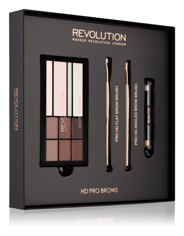 Makeup Revolution Pro HD Brows set cosmetice I.