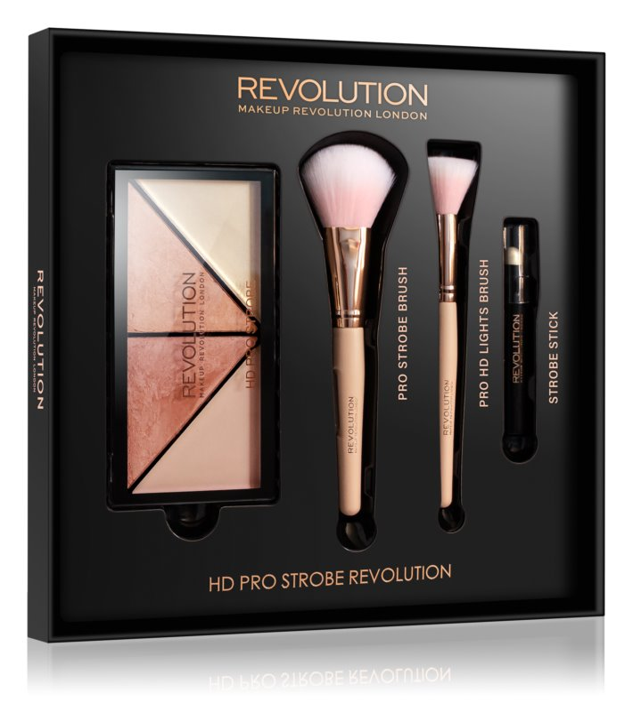 Makeup Revolution Pro HD Strobe Revolution Cosmetica Set  I.