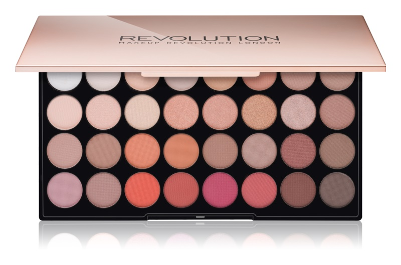 Makeup Revolution Ultra Flawless 3 paleta de sombras de ojos