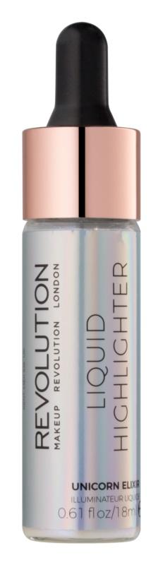 Makeup Revolution Liquid Highlighter folyékony bőrélénkítő