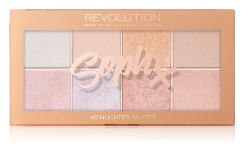 Makeup Revolution Soph X paleta rozjasňovačů