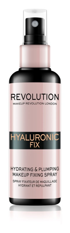 Makeup Revolution Hyaluronic Fix Makeup Fixing Spray with Moisturizing Effect