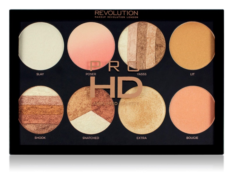 Makeup Revolution Pro HD Brighter Than My Future paleta luminoasa