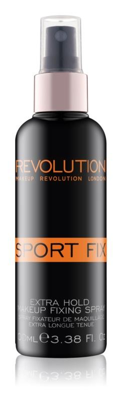 Makeup Revolution Sport Fix спрей для фіксації макіяжу