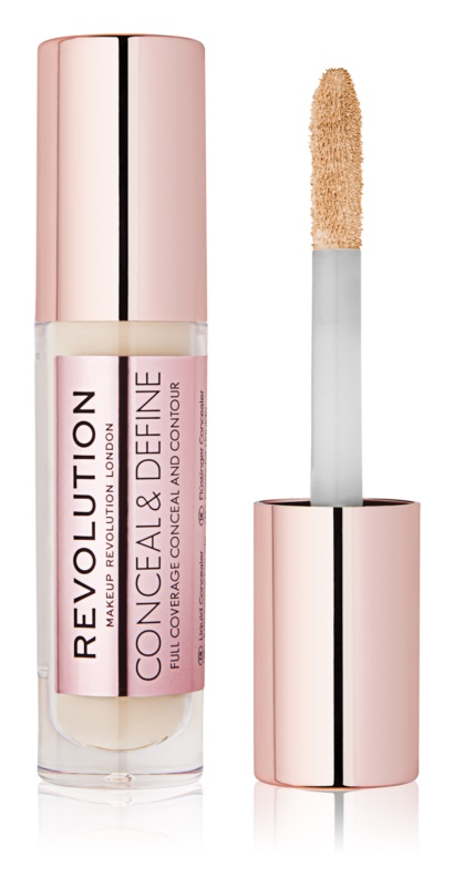 Makeup Revolution Conceal & Define tekutý korektor