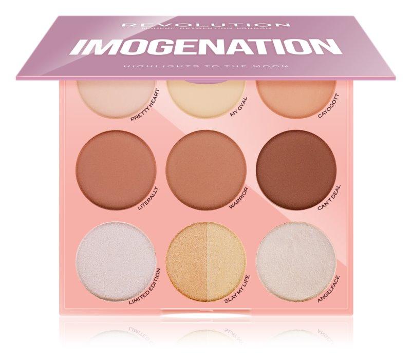 Makeup Revolution Imogenation paleta za konture lica