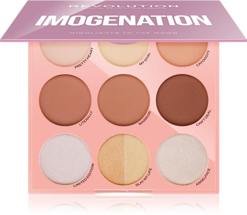 Makeup Revolution Imogenation paleta za konture obraza