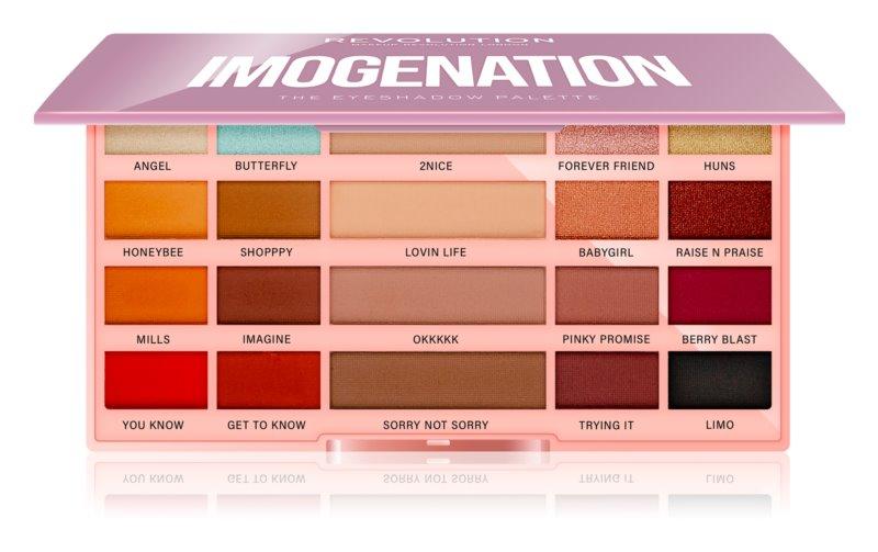 Makeup Revolution Imogenation paleta očných tieňov