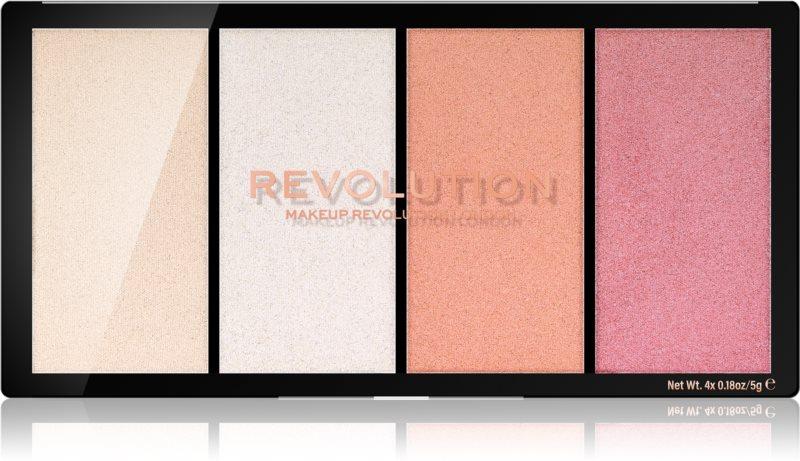 Makeup Revolution Re-Loaded paleta osvetljevalcev