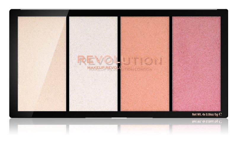 Makeup Revolution Re-Loaded palette d'enlumineurs