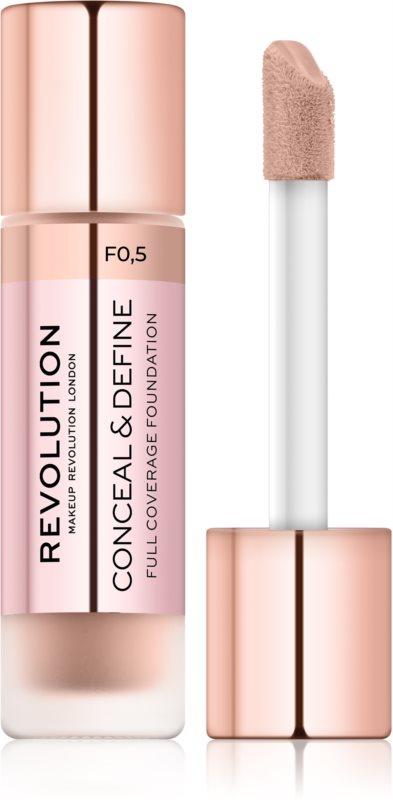 Makeup Revolution Conceal & Define podkład kryjący