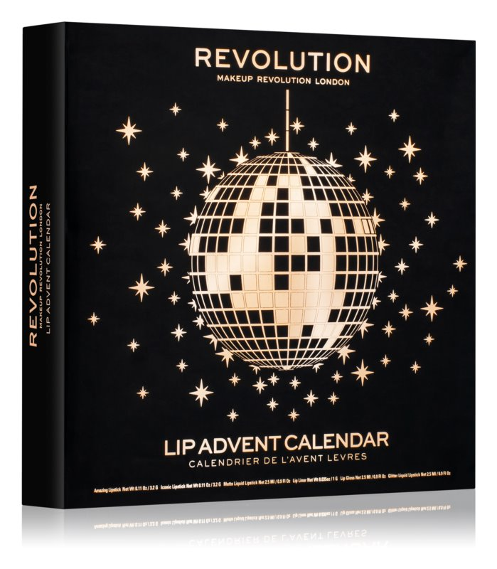 Makeup Revolution Lip Advent Calendar новорічний календар