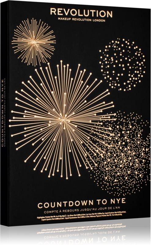 Makeup Revolution Countdown to NYE kalendář odpočítávání do Nového roku