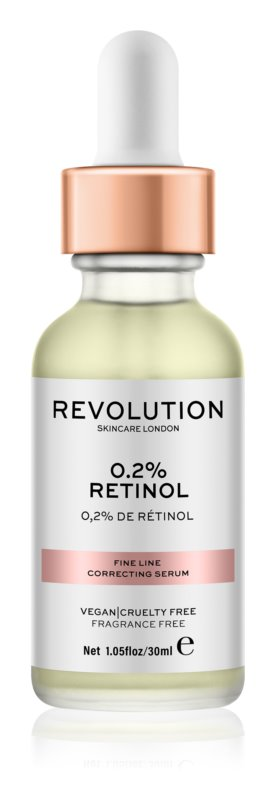 Makeup Revolution Skincare 0.2% Retinol sérum pro korekci jemných vrásek