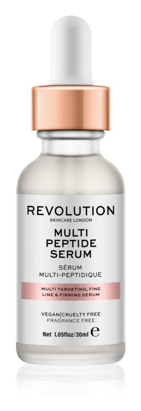 Makeup Revolution Skincare Multi Peptide Serum učvrstitveni serum proti gubam
