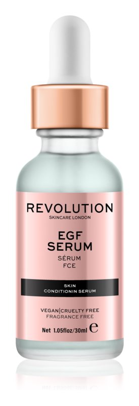 Makeup Revolution Skincare EGF Serum serum za kožo obraza z rastnim faktorjem