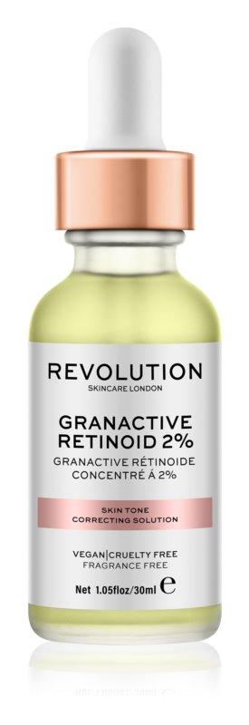 Makeup Revolution Skincare Granactive Retinoid 2% sérum pro korekci tónu pleti