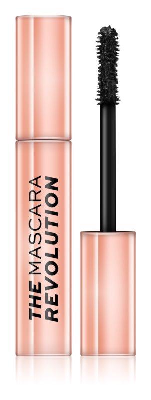 Makeup Revolution The Mascara Revolution maskara za volumen, dolžino in ločevanje trepalnic
