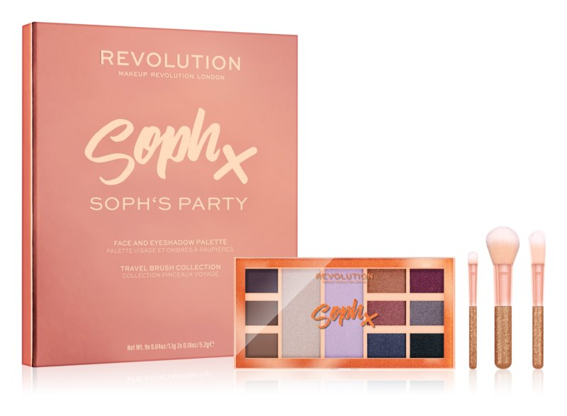 Makeup Revolution Soph X Party Soph darčeková sada