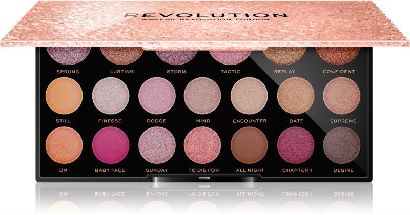 Makeup Revolution Jewel Collection paletka očních stínů