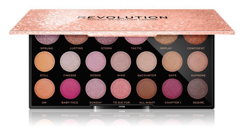 Makeup Revolution Jewel Collection палетка тіней для очей