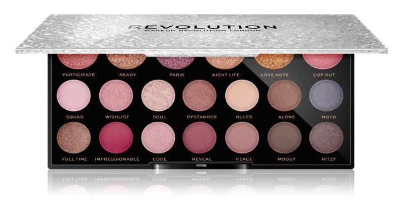 Makeup Revolution Jewel Collection paleta de sombras de ojos