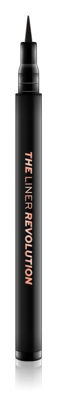 Makeup Revolution The Liner Revolution vodoodporno tekoče črtalo za oči v peresu
