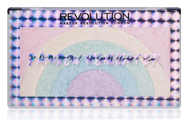 Makeup Revolution Rainbow iluminator