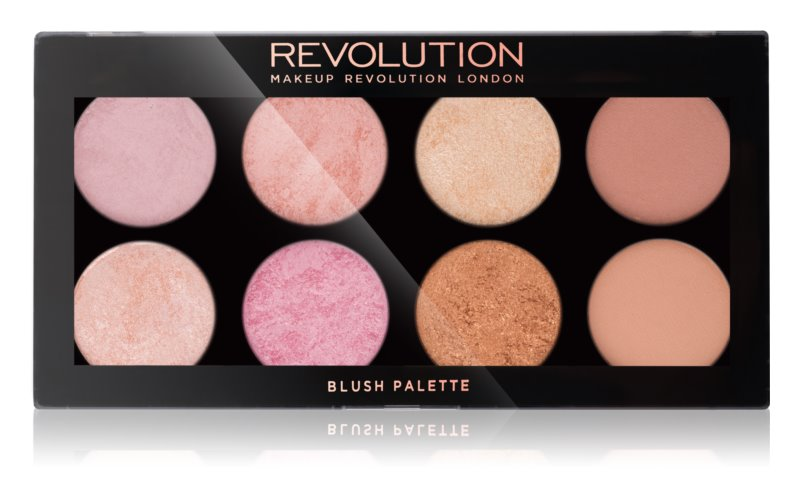 Makeup Revolution Golden Sugar 2 Rose Gold paleta fard de obraz