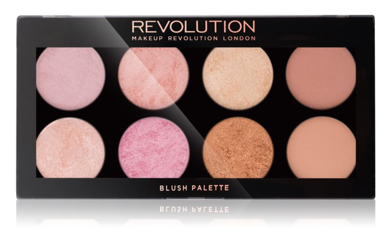 Makeup Revolution Golden Sugar 2 Rose Gold palette de blush