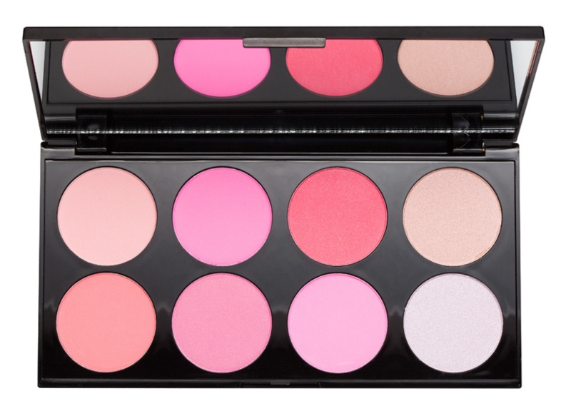 Makeup Revolution Ultra Blush All About Pink палетка рум'ян