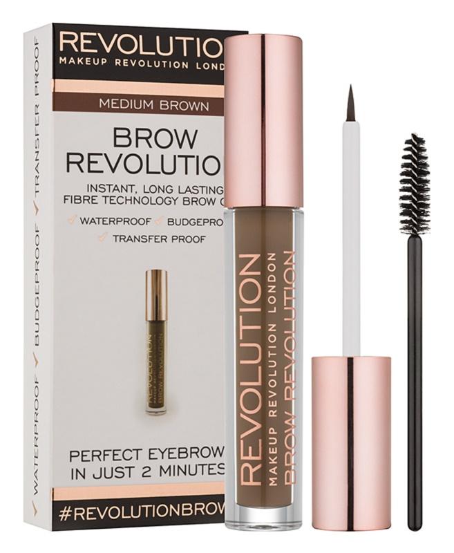 Makeup Revolution Brow Revolution Setting Gel For Eyebrows