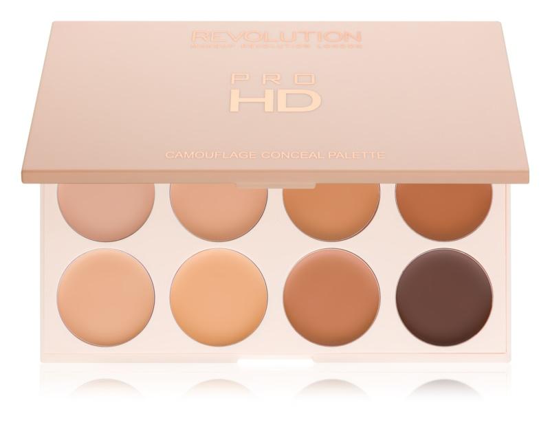 Makeup Revolution Pro HD Camouflage paleta korektorov