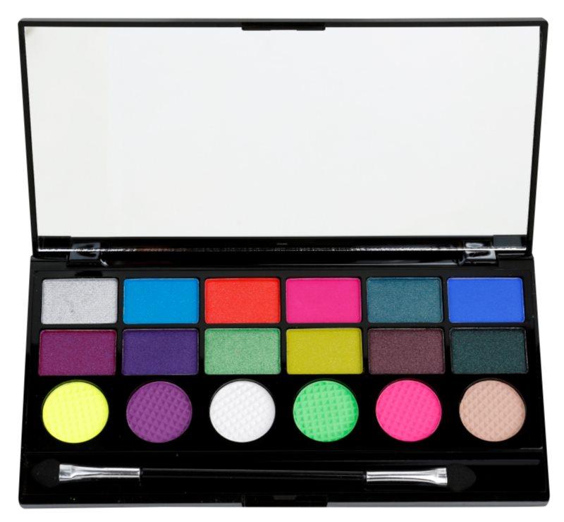 Makeup Revolution Colour Chaos szemhéjfesték paletták
