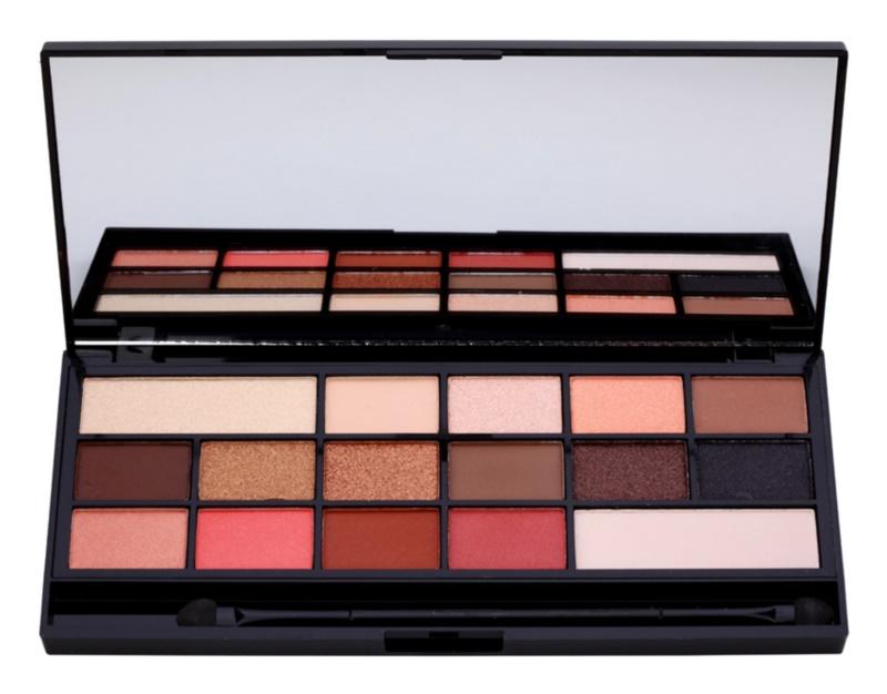 Makeup Revolution I ♥ Makeup Chocolate Vice paleta de sombras  com espelho e aplicador