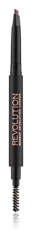Makeup Revolution Duo Brow Definer Precise Eyebrow Pencil